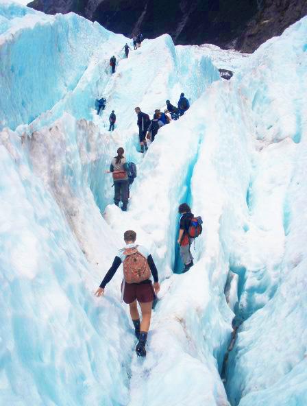 NZ Glacier Hikes