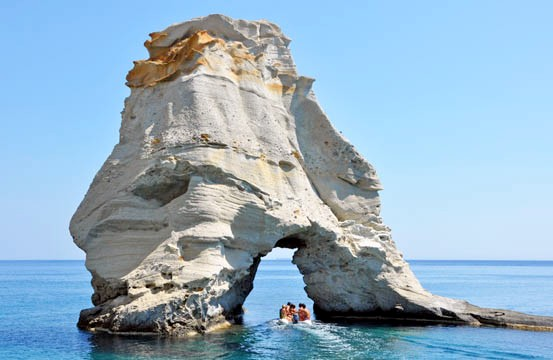 sea arch greece