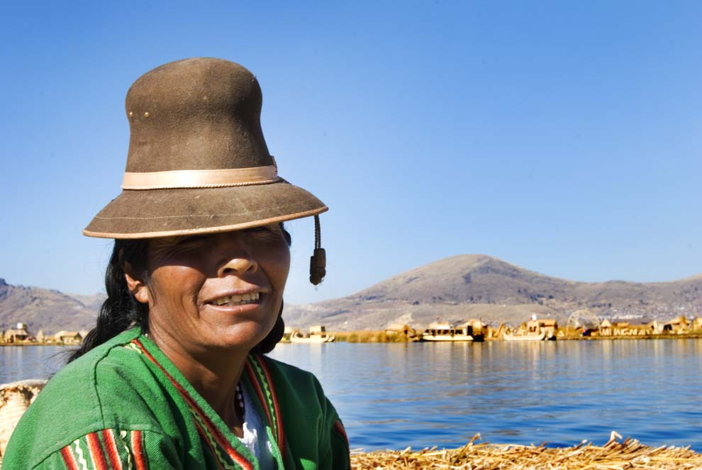 Lake Titicaca Woman