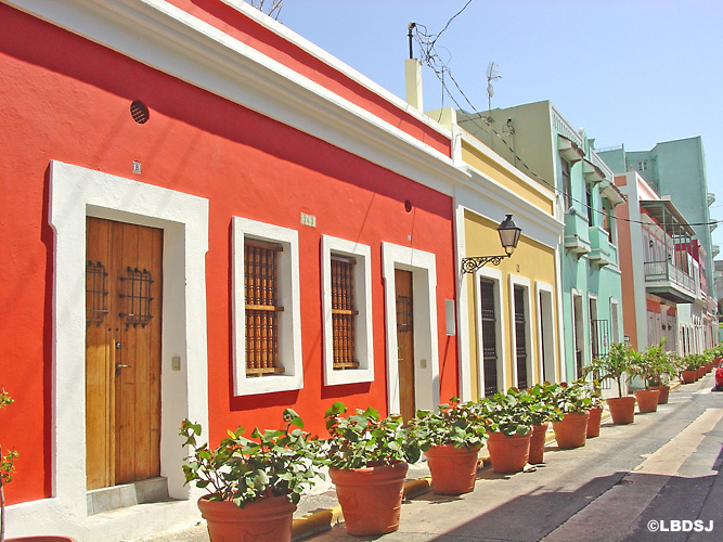 colorful buildings puerto rico