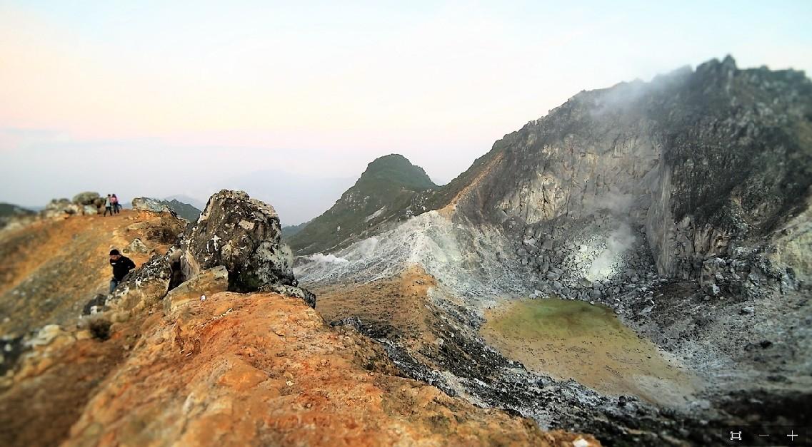 Berastagi Volcano