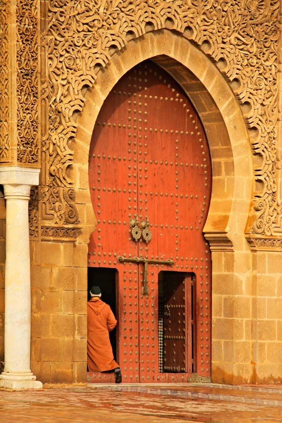 Morocco doorways