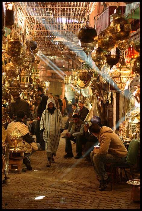 bazar in morocco
