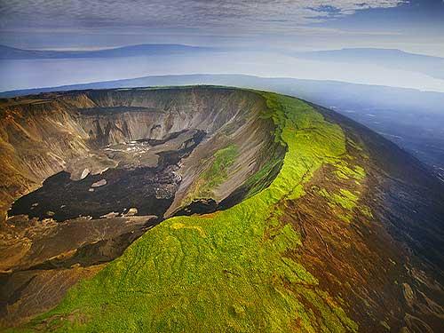 Isabela volcano galapagos