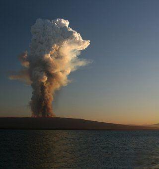 galapagos volcanos