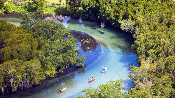 canoe trips seychelles