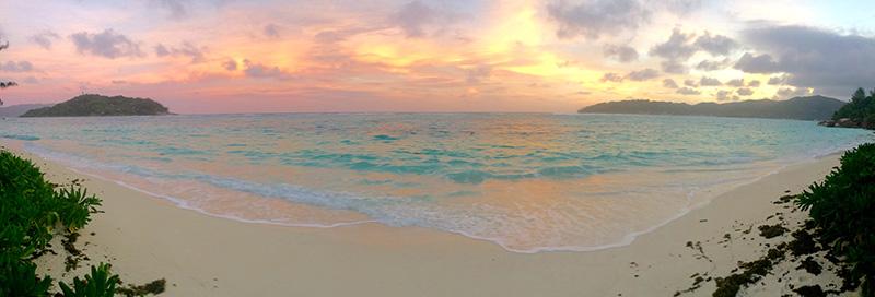 mahe sunset