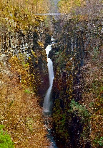 best scottish waterfalls