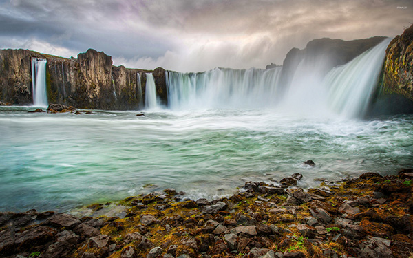north iceland best waterfalls
