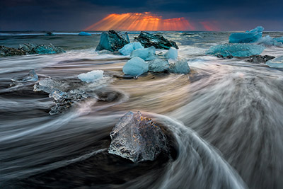 iceland glacier photography