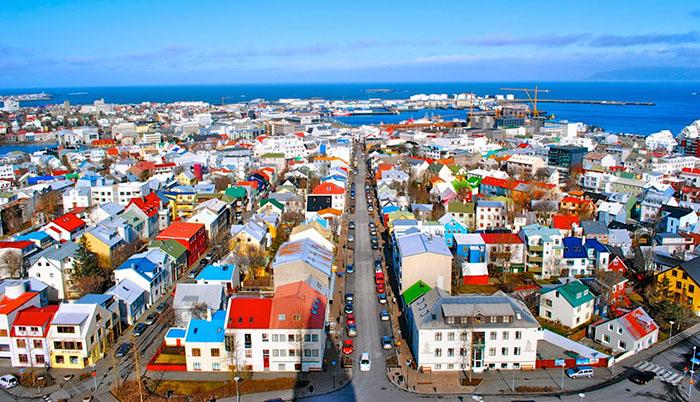 Reykjavík colors