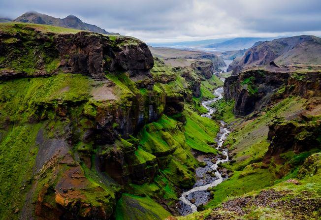 iceland canyons