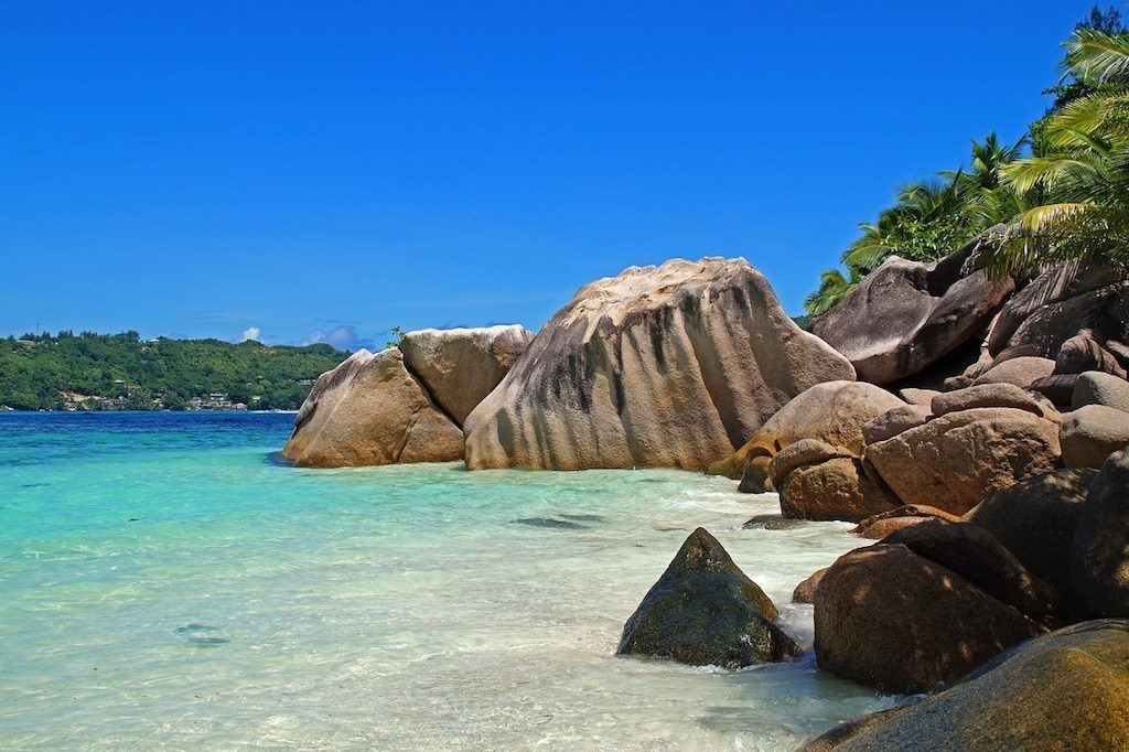 Seychelles beach group tours
