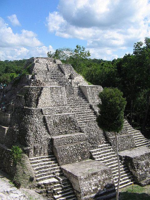 Yaxha pyramid