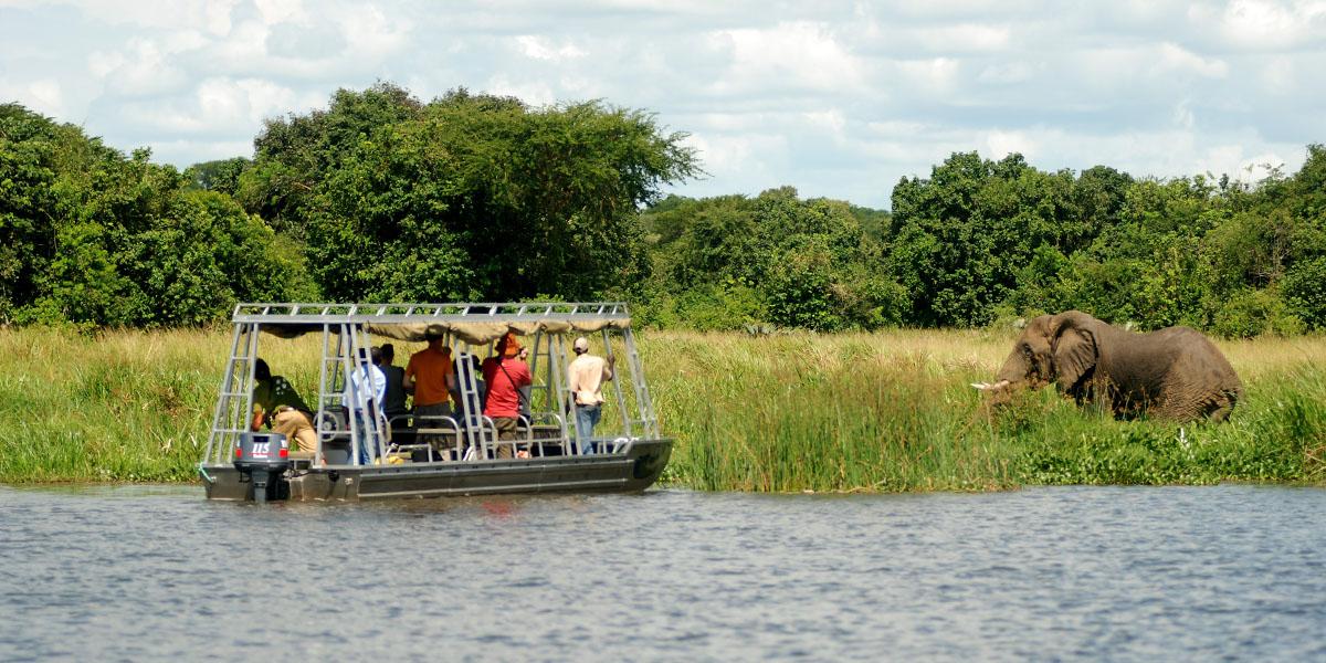 Kazinga River Safari