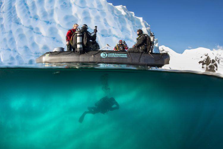 Antarctica dive tours
