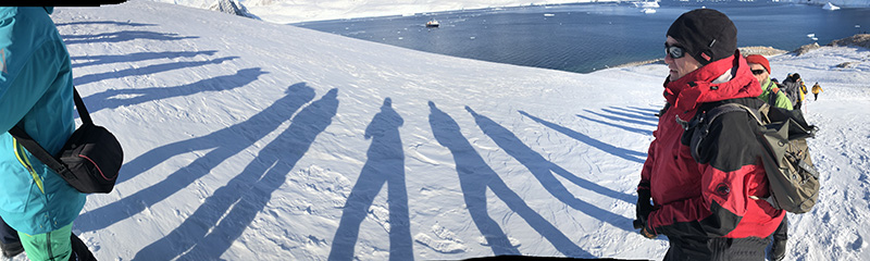 hiking antarctica small group tours