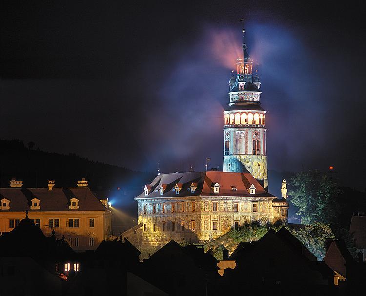 Castle Tower small groups Cesky