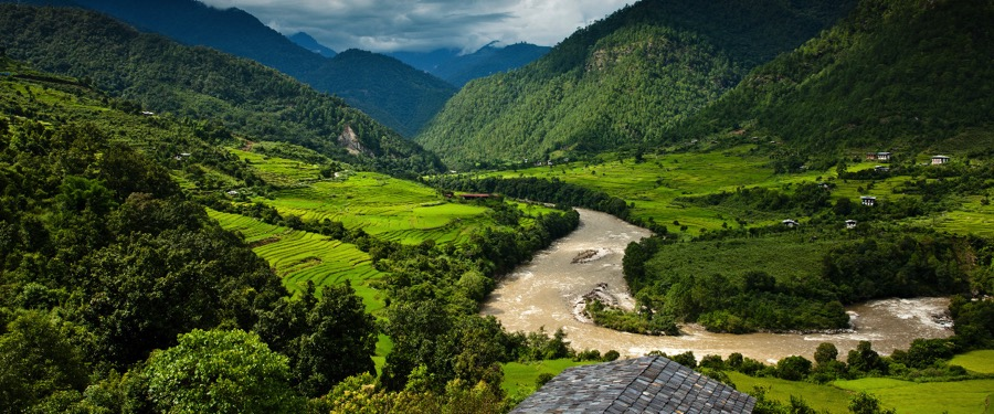 bhutan valleys
