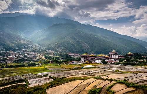 Bhutan landscapes