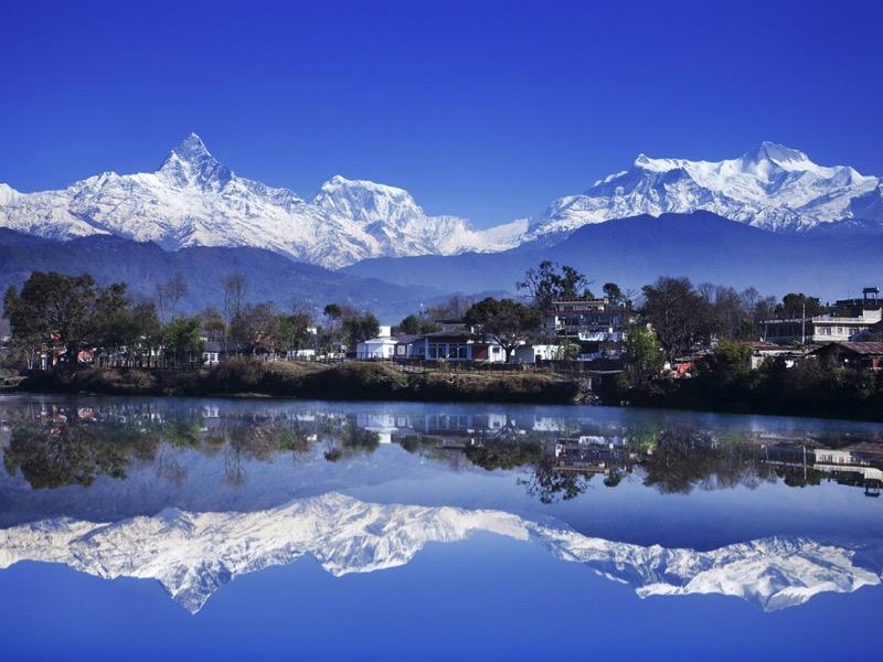 nepal mirror lake