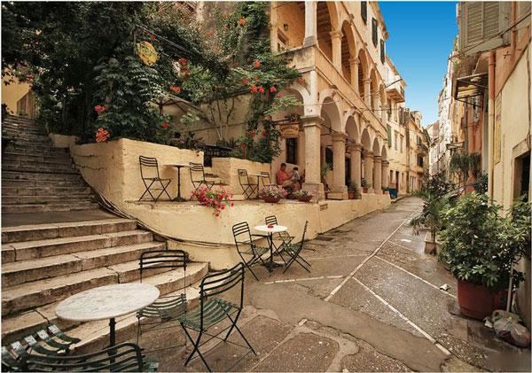 greece streets