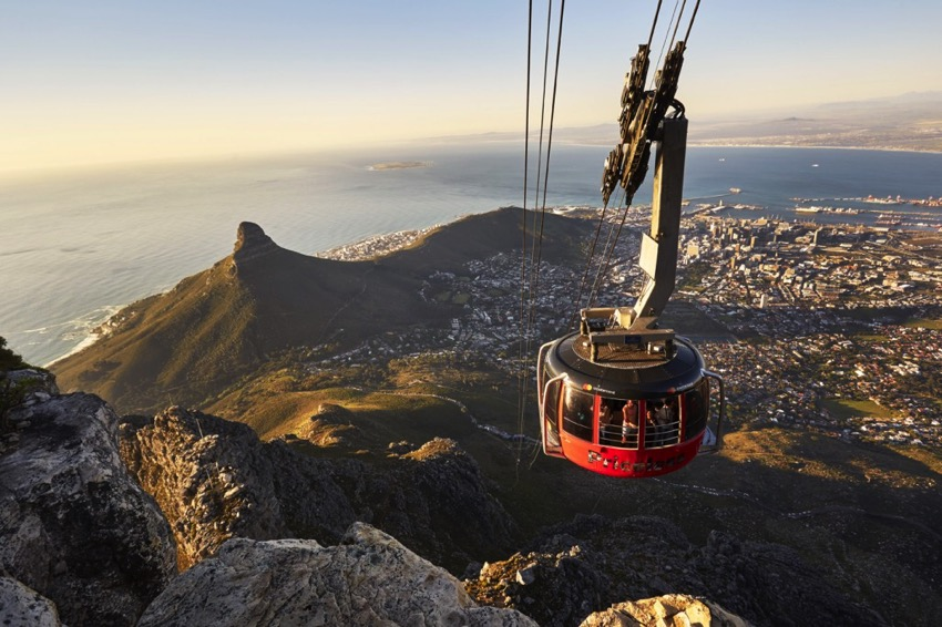 cable car table mountain tours