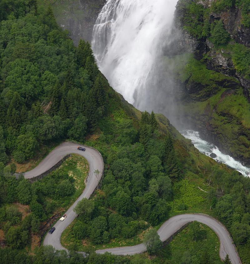 Flåm road trips